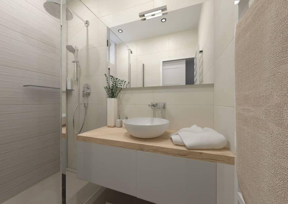 3D návrhy malých koupelen nejsou velký problém slide 12