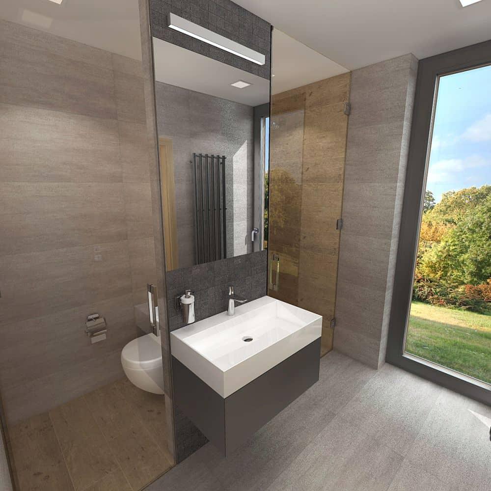 3D návrhy malých koupelen nejsou velký problém slide 13