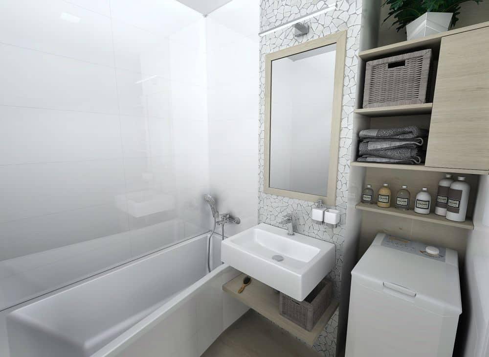 3D návrhy malých koupelen nejsou velký problém slide 0