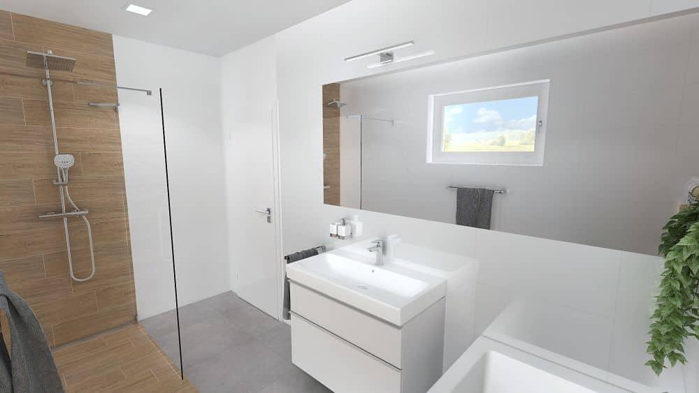 3D návrhy malých koupelen nejsou velký problém slide 14