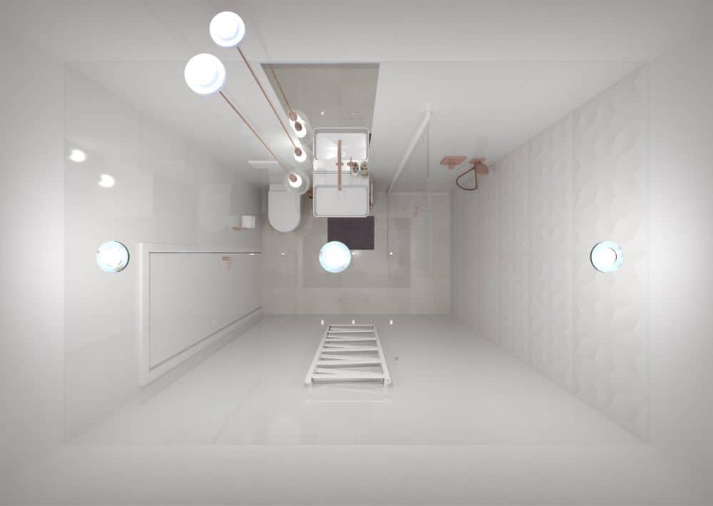 3D návrhy malých koupelen nejsou velký problém slide 16