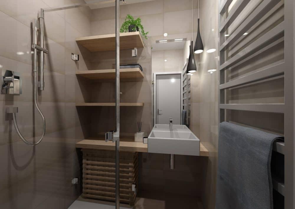 3D návrhy malých koupelen nejsou velký problém slide 2