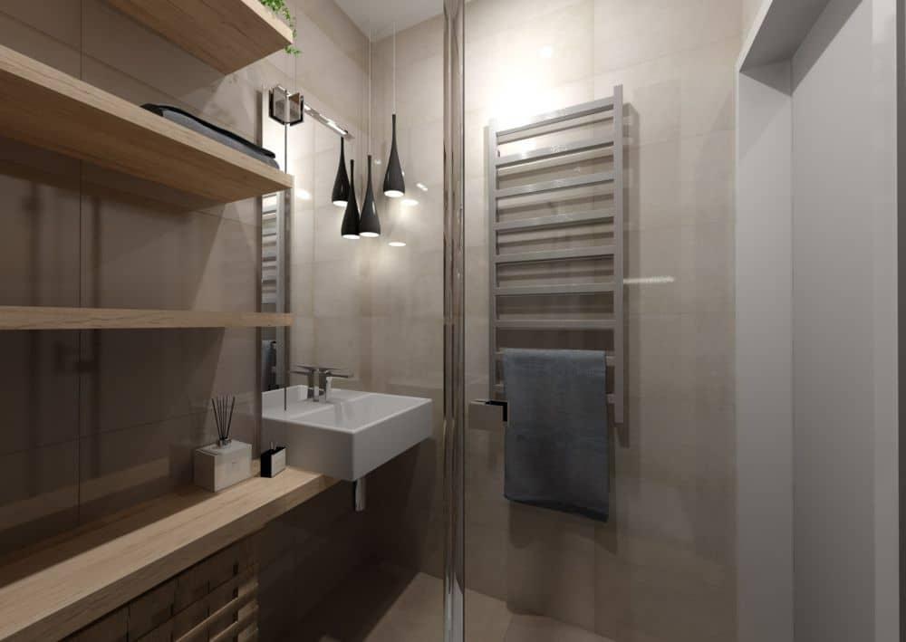 3D návrhy malých koupelen nejsou velký problém slide 4