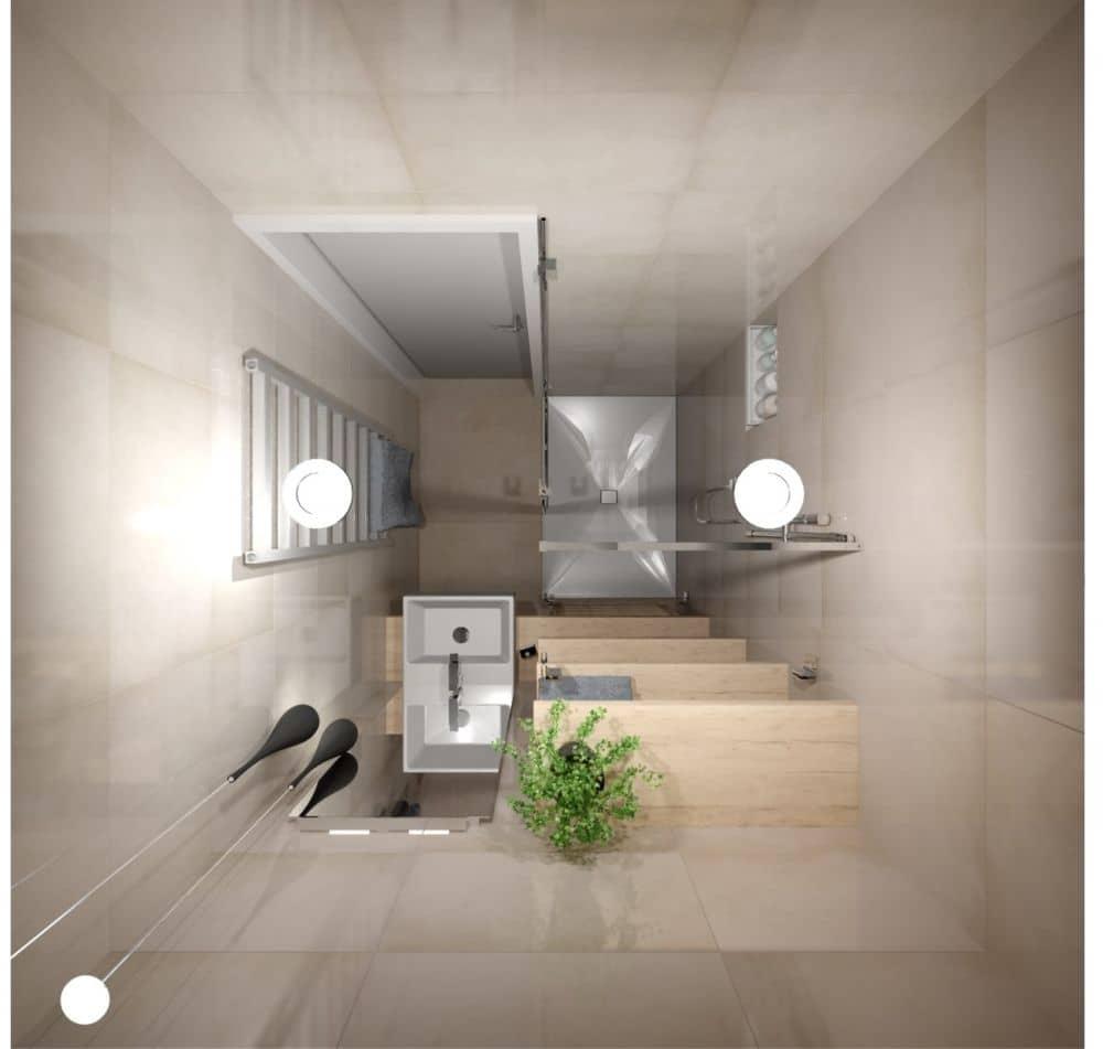 3D návrhy malých koupelen nejsou velký problém slide 5
