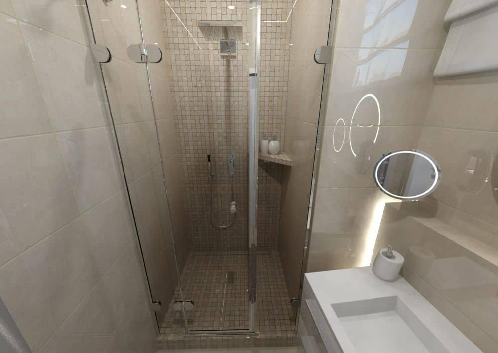 3D návrhy malých koupelen nejsou velký problém slide 6
