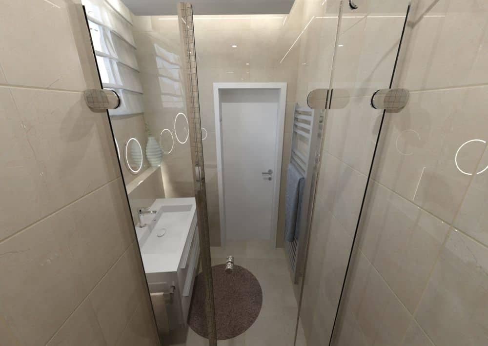 3D návrhy malých koupelen nejsou velký problém slide 7