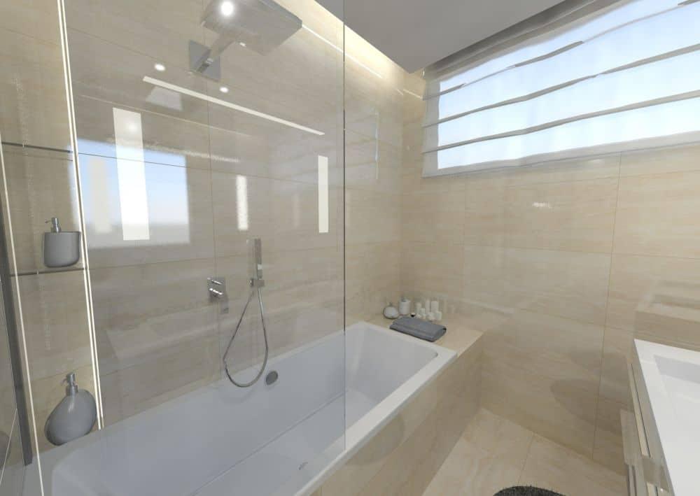 3D návrhy malých koupelen nejsou velký problém slide 8