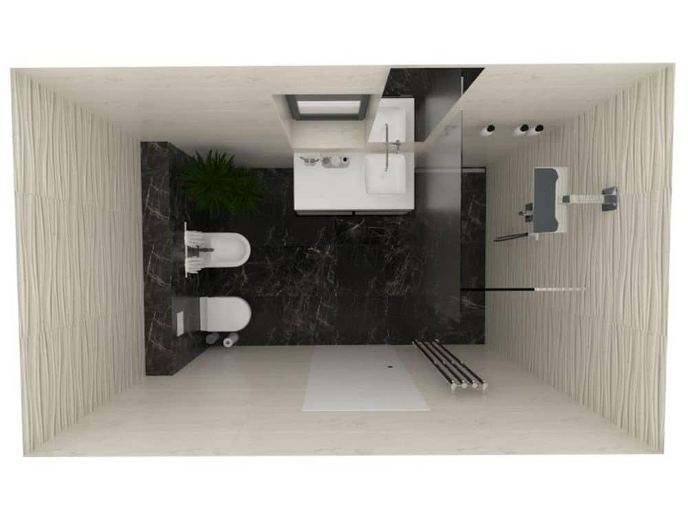 3D návrhy malých koupelen nejsou velký problém slide 9