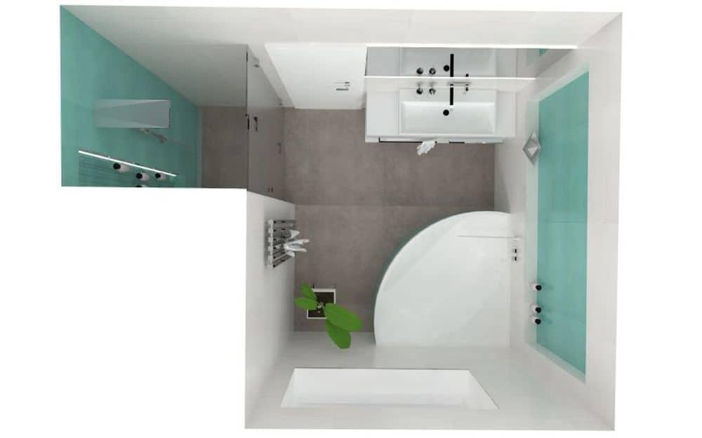 3D návrhy malých koupelen nejsou velký problém slide 10