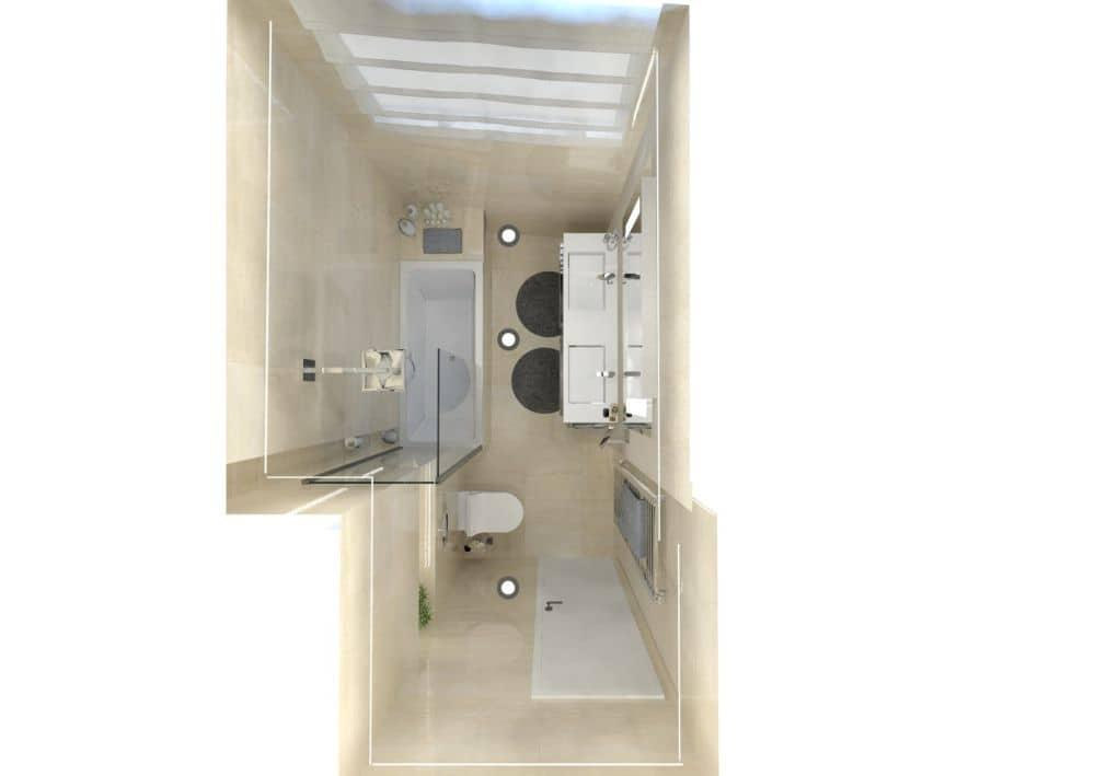 3D návrhy malých koupelen nejsou velký problém slide 11