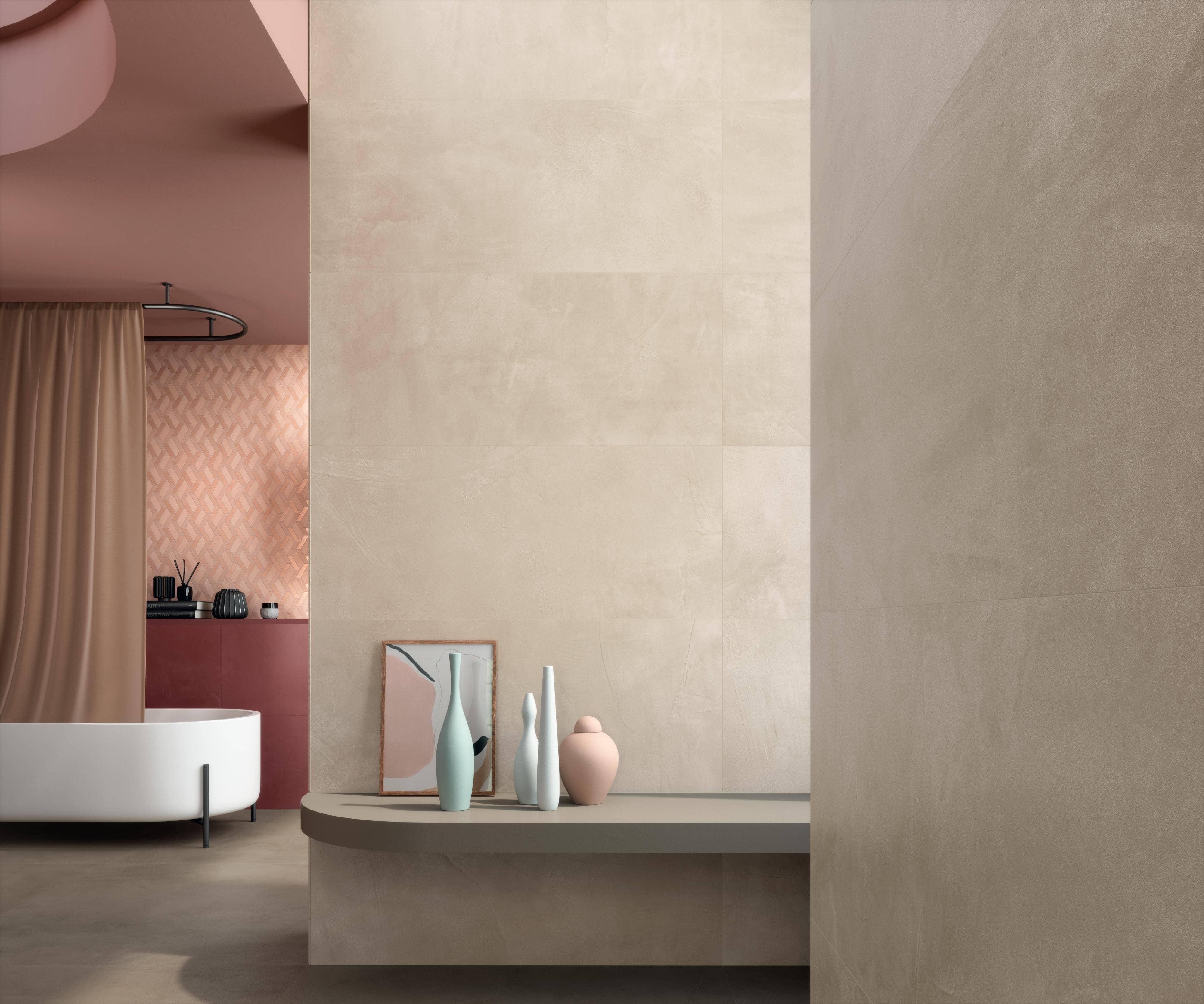 Koupelna v pastelových barvách. Objevte kolekci Prism! slide 1