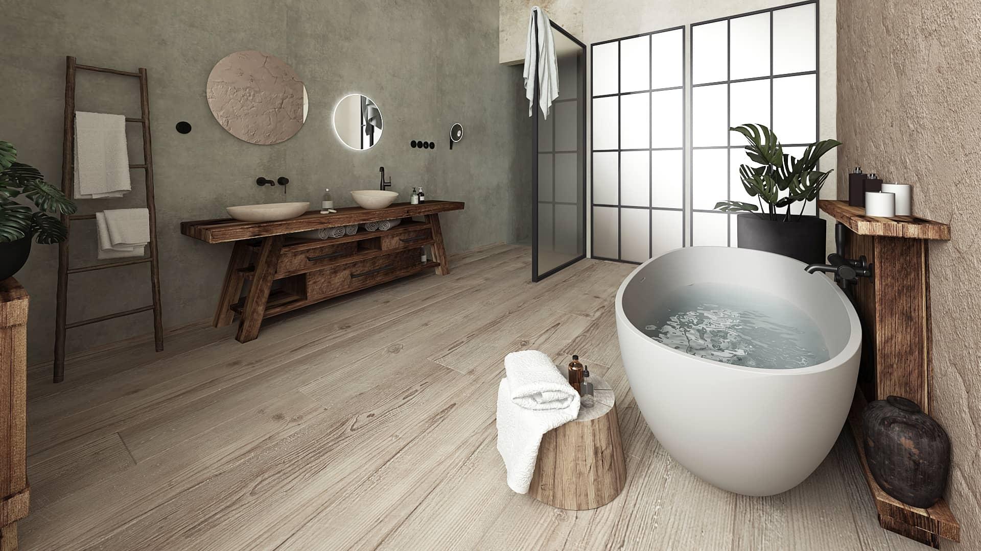 Centrum Křižíkova Free Architects rozhovor koupelna